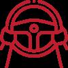 kia-red-steering-wheel